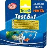 Тест 6 в 1 полоски для пресной воды 25шт