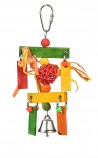 Игрушка для птиц Плетеный Шар Подвесной (12.7 x2.54 x 7.62см)