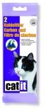 Угольная прокладка для туалета для кошек Catit