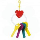Игрушка для птиц, Сердечко с ключами
