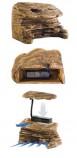 Остров для черепах EXO TERRA с фильтром PT-3620 большой