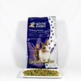 Корм для привередливых кроликов в виде крупных гранул 600г