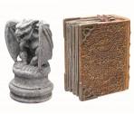 Декорация гаргулия  + Волшебная книга