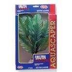 Растение пластиковое зеленое Амазонка супер