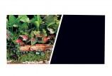 Фон Зеленые растения/Черный, 45см (7,5м)