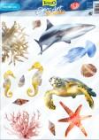 Стикер Tetra DecoArt StickerSet Marine Life