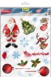 Фон Tetra DecoArt Poster Санта/Снеговик 60х45см