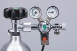 Редуктор СО2 фронтальный с электромагнитным клапаном.