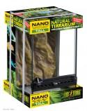 Террариум из силикатного стекла Nano 20x20x30см