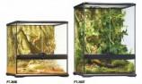 Террариум из силикатного стекла 45х45х60см с дверцами