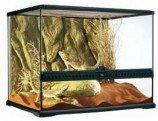 Террариум из силикатного стекла 60х45х45см с дверцами