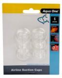 Присоски Aqua One Air Line Suction Cups 6шт
