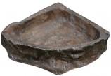 Кормушка Reptile One Corner Dish 17х15см