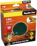 Греющая подушка Reptile One Low Voltage Heat Mat D12см 5Вт