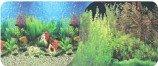 Фон двухсторонний 30см. Растительный пресн.(синий) / Кораллы