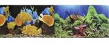Двухсторонний Морские кораллы/Подводный мир 50х100см