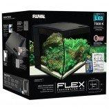 Аквариум Fluval Flex 34л с изогнутым стеклом