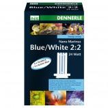 Сменная лампа Dennerle Nano Marinus Blue/White 2:2 24W