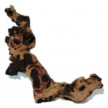 Коряга натуральная Mopani размером 30-40 см.