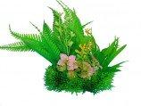 Композиция из пластиковых растений 15см PRIME M626