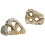 Камень Радужный с тремя отверстиями