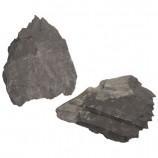 Камень Сланец черно-серый