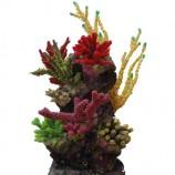 Композиция из кораллов пластик+силикон 34х30х37см