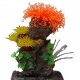Композиция из кораллов пластик+силикон 20х15х26см