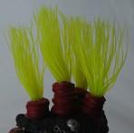 Коралл пластиковый зеленый 14х11х9см CA003G