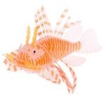 Крылатка силиконовая на присоске, оранжевая
