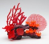 Композиция из кораллов пластиковая 36х16,5х27,5см